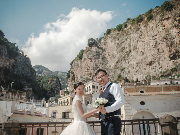 Ava & Danny - Amalfi Coast Chinese Wedding