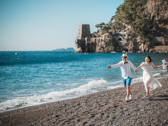 S&J - Honeymoon Photoshooting in Positano