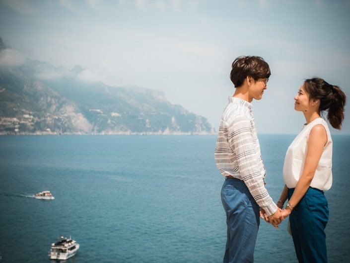 L&S - Amalfi & Atrani Honeymoon Photoshooting