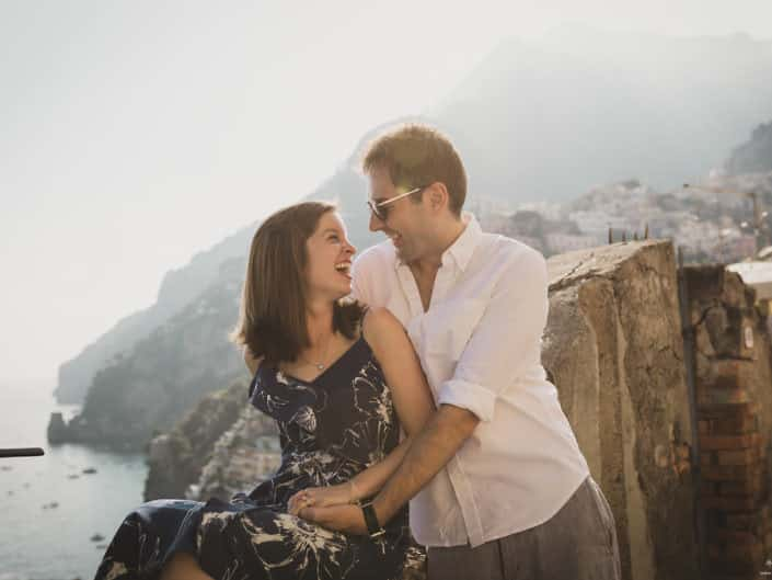 Rachel & Ryan - Honeymoon Photos in Positano Amalfi Coast